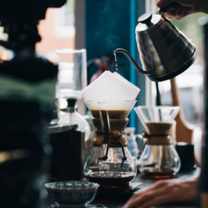 Brewing Pro Chemex - slow coffee